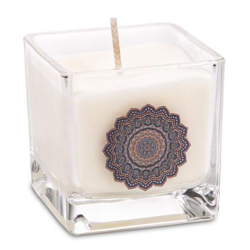 Bougie cire de colza écologique parfumée Mandala